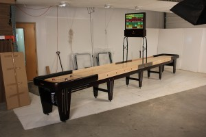 Rock-Ola Shuffleboard Table