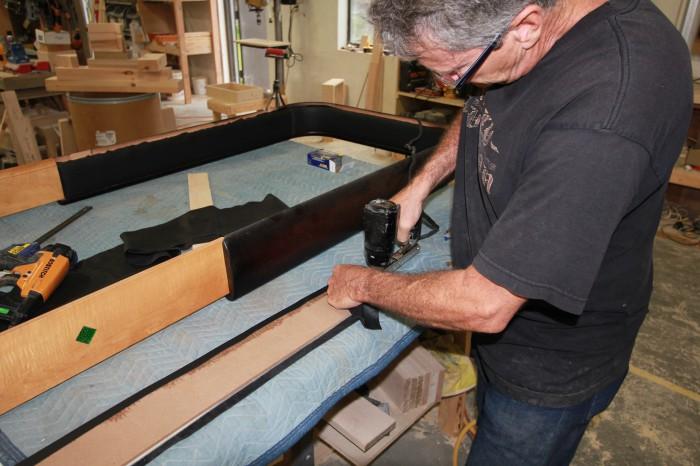 Rock Ola Leather Pads Shuffleboard Table Horse Collar