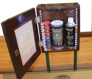 Rock-Ola Shuffleboard Storage cabinet