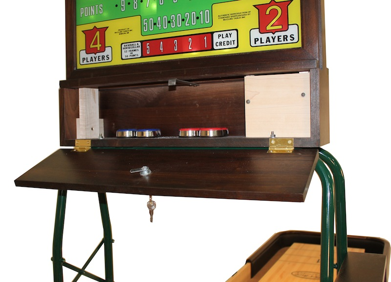 Shuffleboard Table Rock-Ola Score unit