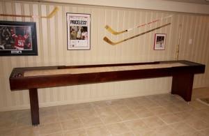 Shuffleboard Table Ideas