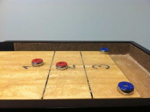 Shooting Shuffleboard Table Tips