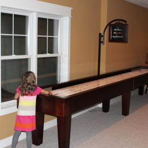 Shuffleboard Family Fun