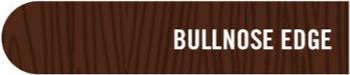 bullnose-countertop-edge-profile-mcclure-tables Choose Your Butcher Block Countertop Edge Profile With McClure's Custom Options