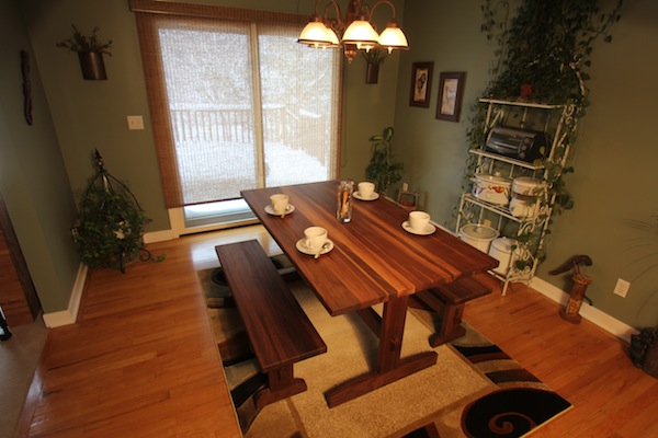Handcrafted-Dining-Tables-Trestle-Walnut Dine In Style With McClure's Beautiful Handcrafted Dining Tables