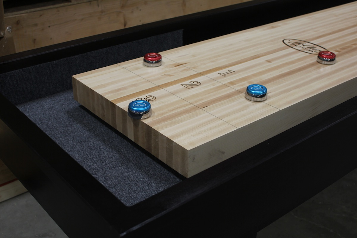 Is Your Shuffleboard Tableu0027s Playing Surface Really 3u201d Thick?McClure Tables