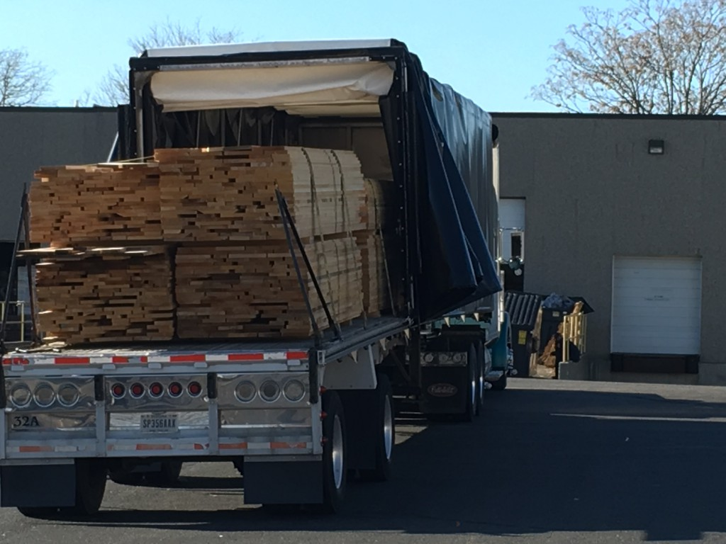Hard Michigan Maple Truck Load