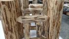 Montana Lodge Style Shuffleboard Legs