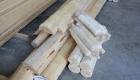 Leg Log Parts for rustic shuffleboard
