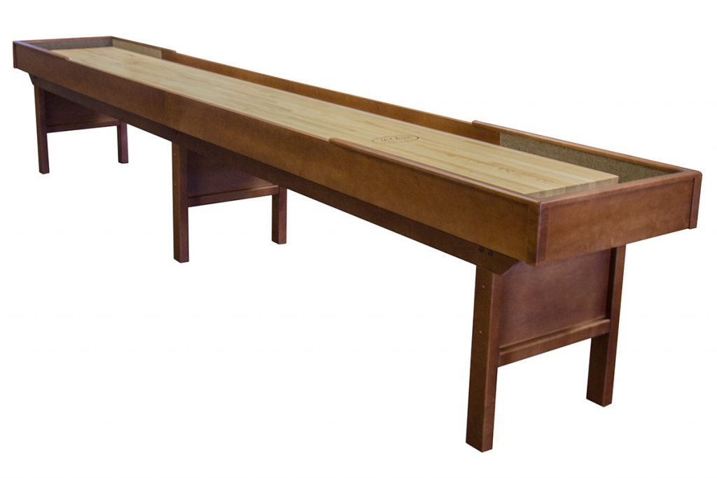 Mcclure tables new line of shuffleboard tables and web for New line in the table