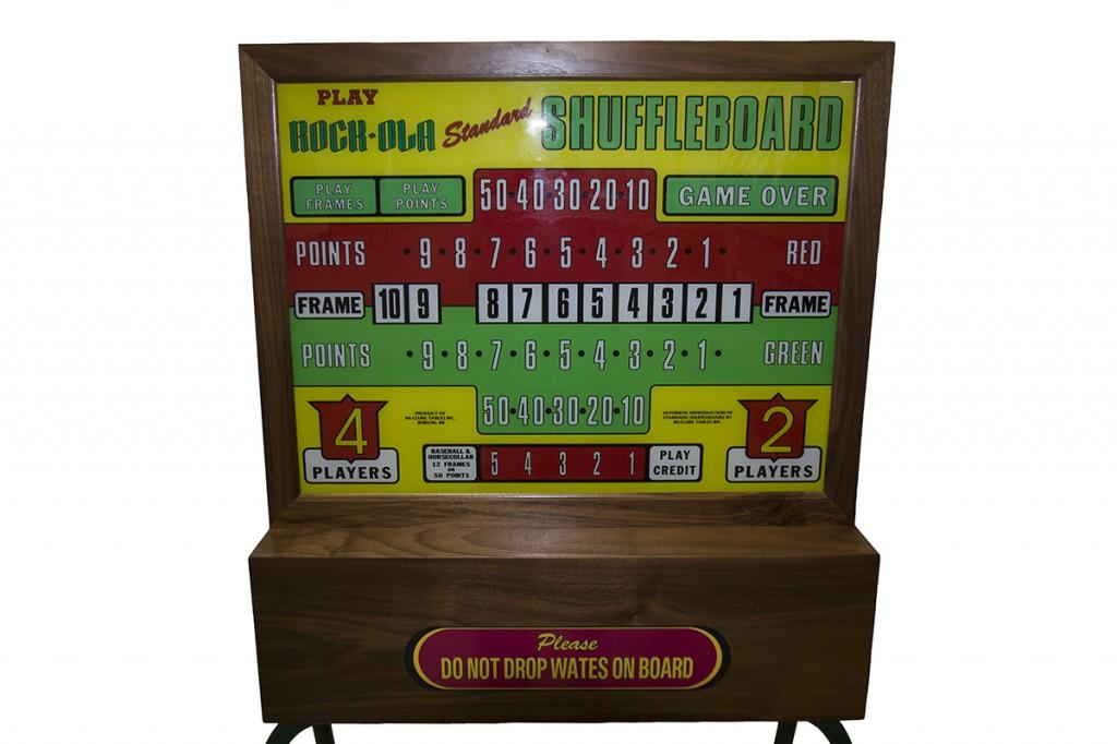 Rock-Ola Shuffleboard Table Score Unit