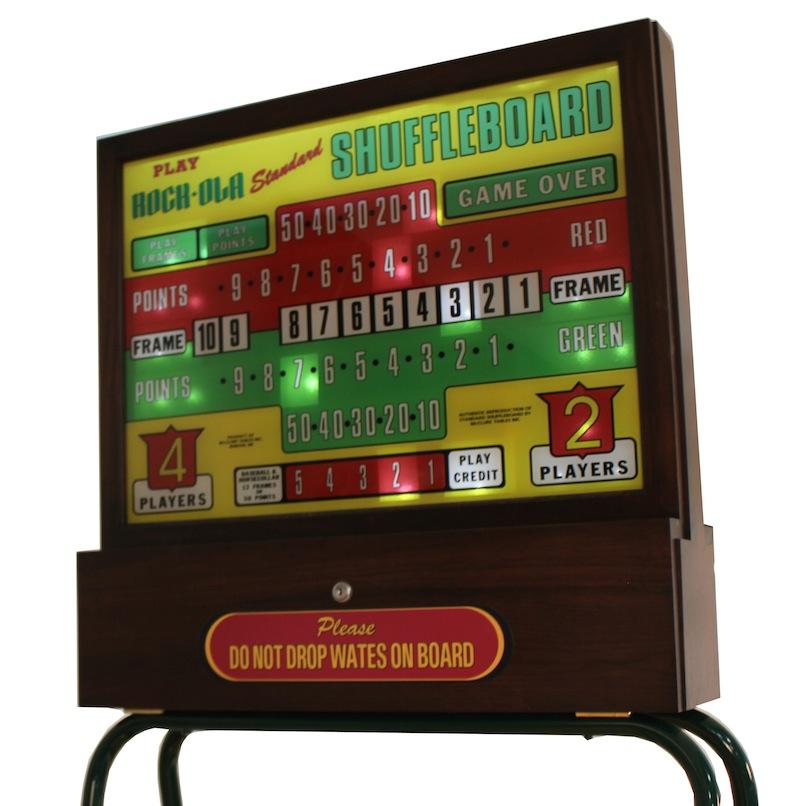 Rock-Ola Shuffleboard Score Unit