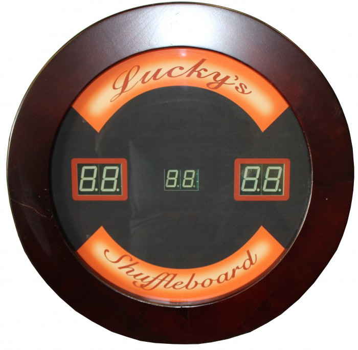 Customized Shuffleboard Score Unit