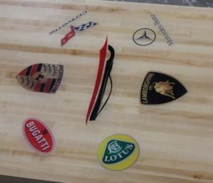 Custom Logo Shuffleboard Tops