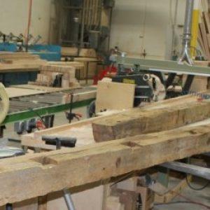 Reclaimed Wood used for Shuffleboard Table Dakota