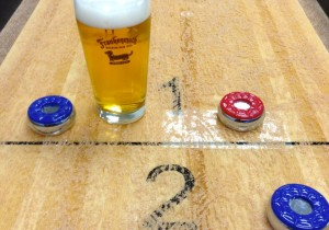 Grand Rapids Cool Beer City and Handcrafted Shuffleboards