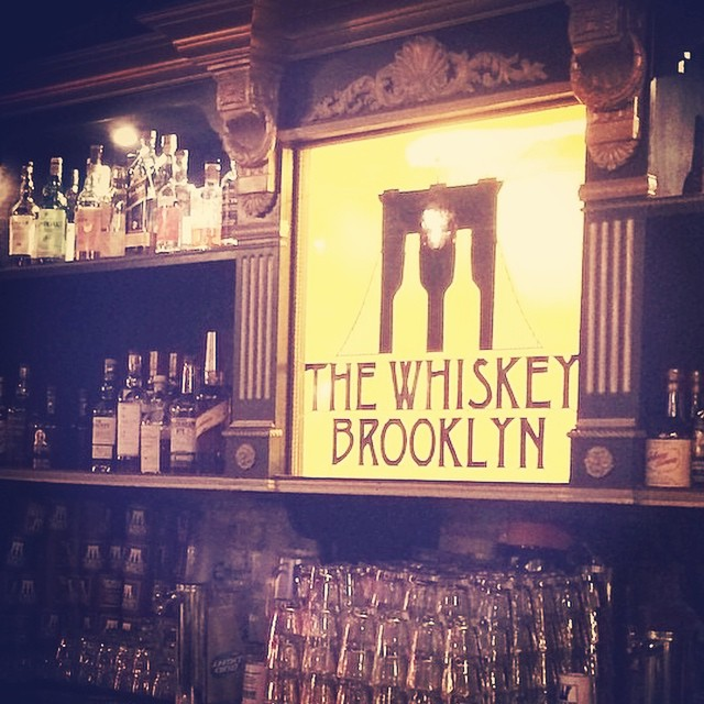 The Whiskey Brooklyn Bar