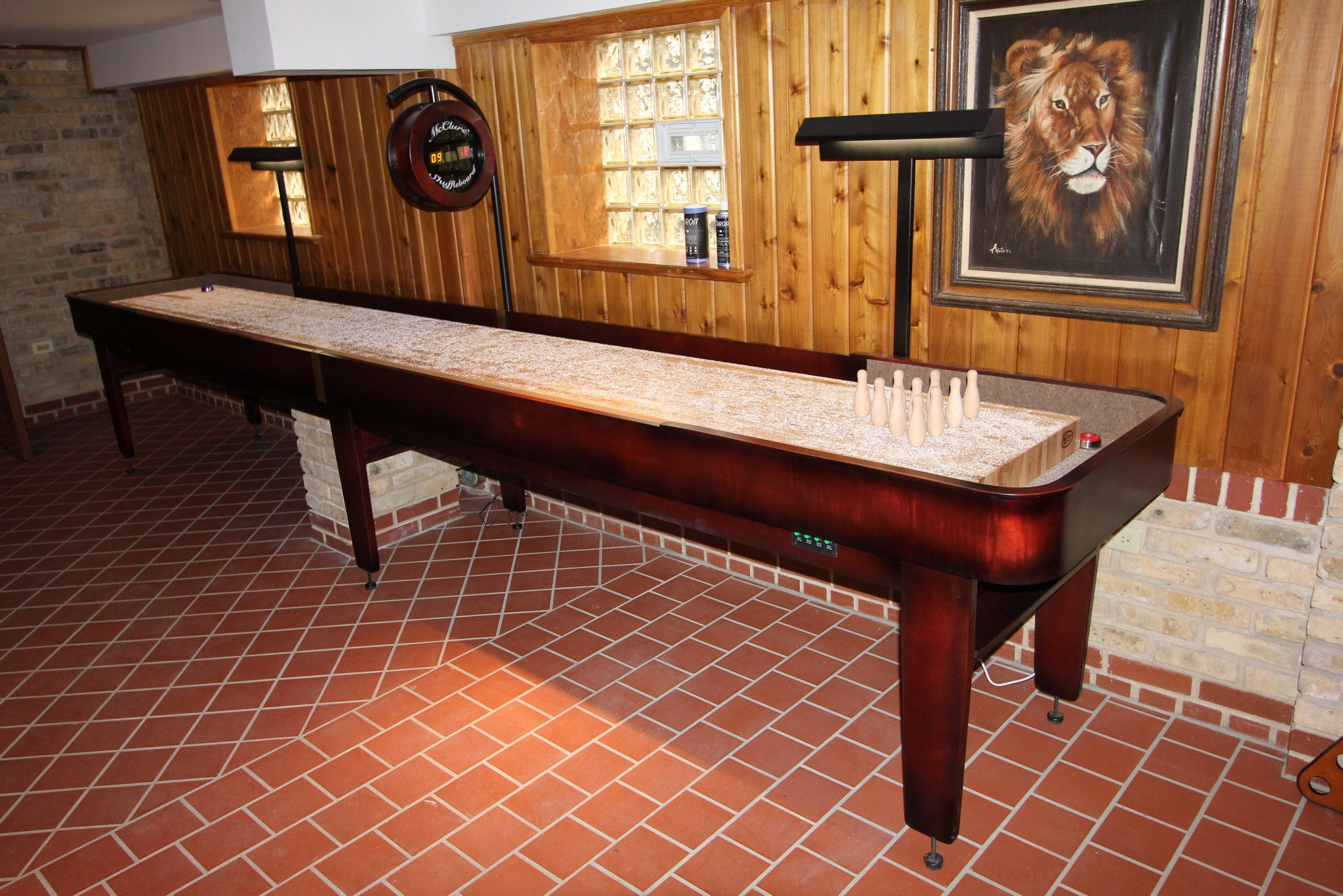 Exceptionnel Shuffleboard Table U2013 McClure Tables