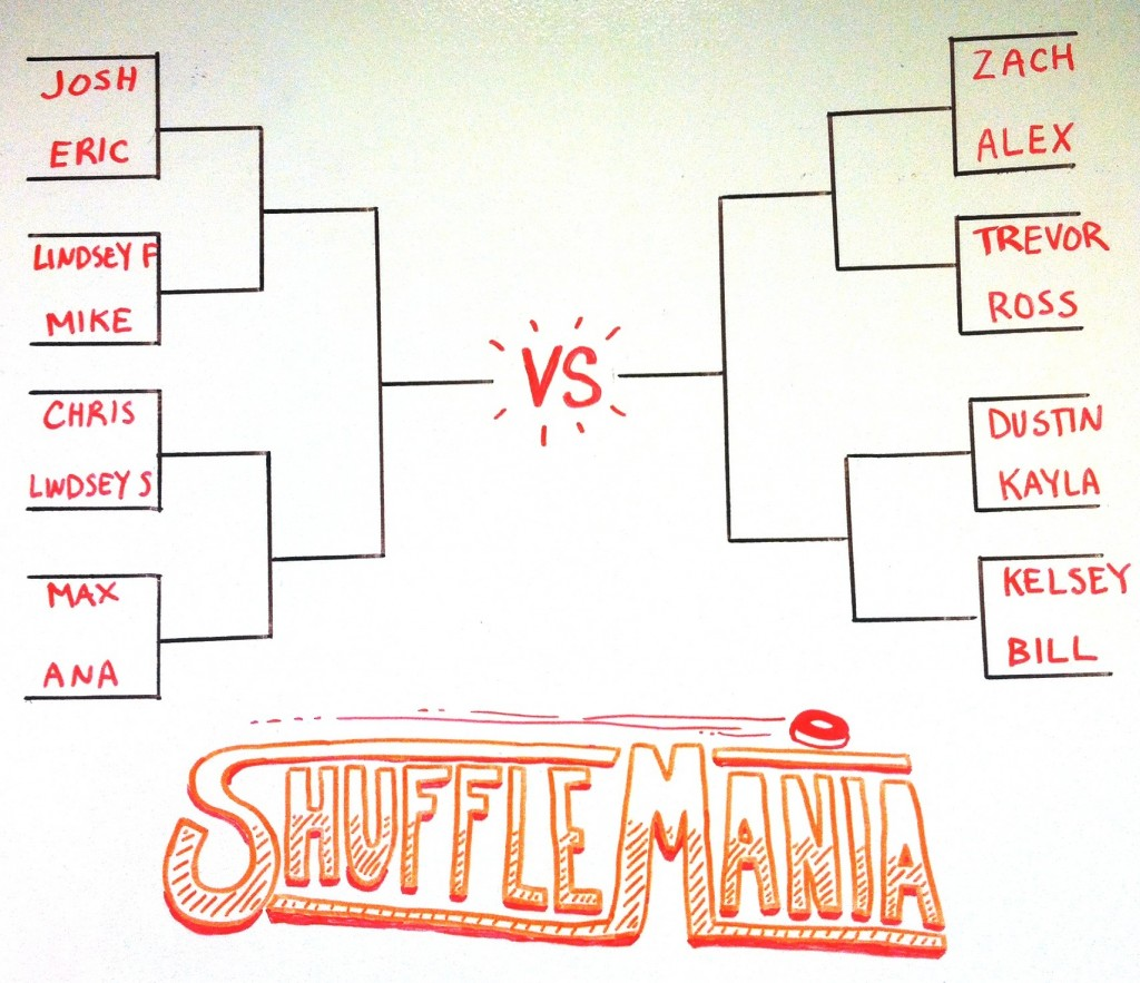 how to set up a shuffleboard tournamentmcclure tables