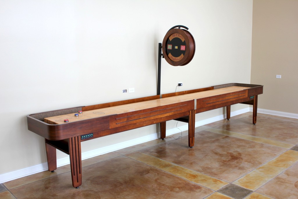 A Guide To Shuffleboard Sizes And Your HomeMcClure Tables - 12 foot shuffleboard table for sale