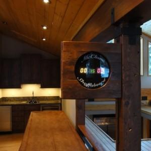 Reclaimed Lumber Shuffleboard Table