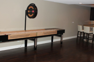 Gameroom Desgins Custom Made Shufflebaord Tables