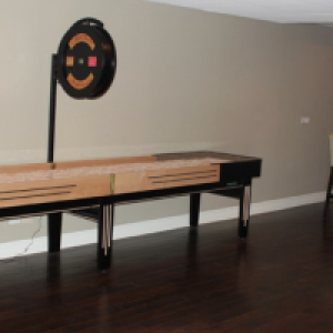 Gameroom Desgins Custom Made Shufflebaord Tables