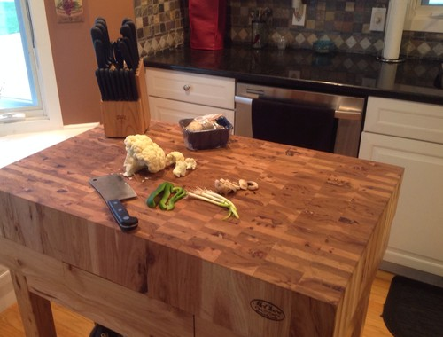 13 The Making of a Butcher Block Countertop