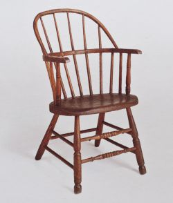 1840s hoop back armchair accredited to William Haldene (Source: https://www.furniturecityhistory.org/)