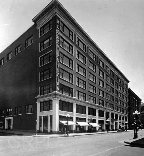 The Keeler Building (Source: https://www.furniturecityhistory.org/)