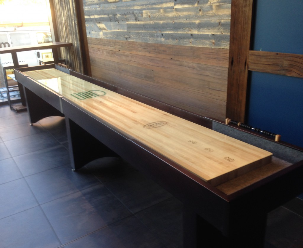 Superieur Shake Shack McClure Shuffleboard Table