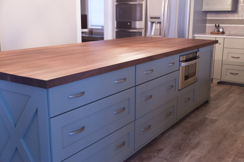 Kitchen Island Wood Top Ideas