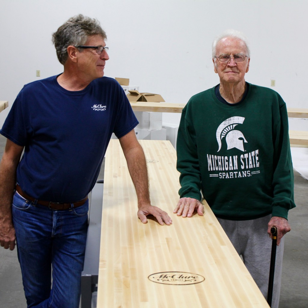 shuffleboard table factory
