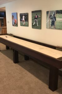 Dakota Rustic Shuffleboard Table