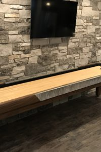 Custom Man Cave Shuffleboard table
