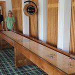 Shuffleboard Table Custom Logo Leadland Lodge
