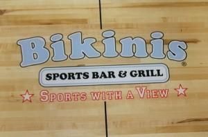 bikinis logo shuffleboard by McClure
