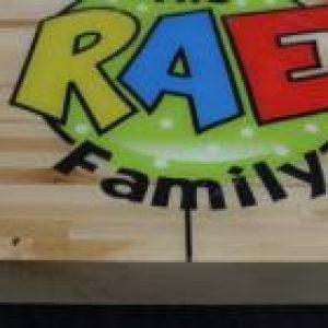 RAE family Shuffleboard table by McClure