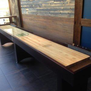 Shake Shack Shuffleboard Table by McClure