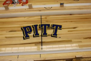 Univ of Pittsburgh Shuffleboard Table by McClure
