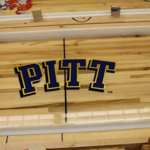 Univ of Pittsburgh Shuffleboard Table by McClure