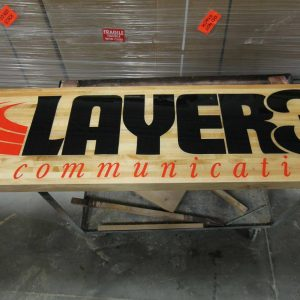 Layer3 shufflebard table mid-construction