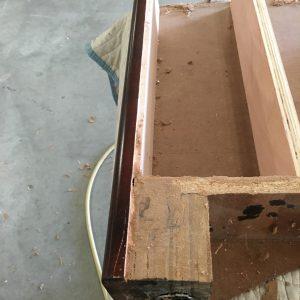 Shuffleboard Table Leg