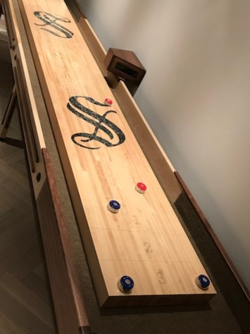 Tremendous Add A Custom Logo To Your Mcclure Shuffleboard Tablemcclure Download Free Architecture Designs Sospemadebymaigaardcom
