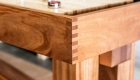 Shuffleboard Tables close up