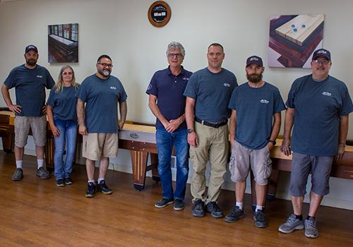 Shuffleboard Team